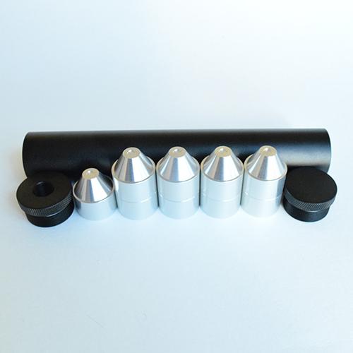 8″ C-Cell Aluminum Solvent Trap Kit 22LR